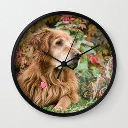 Comanche Autumn Wall Clock