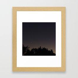 Moonview No. 7 Framed Art Print