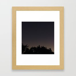 Moonview No. 7 Framed Art Print