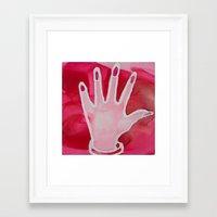 nail polish Framed Art Prints featuring Nail Polish by Ted Irvine