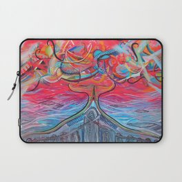 Thought Eruptions Laptop Sleeve