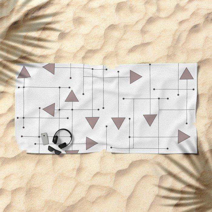 Lines & Arrows Beach Towel