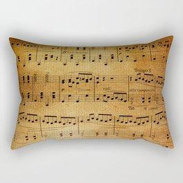Yesterday's Music Rectangular Pillow