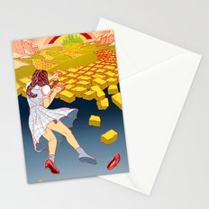 Dark Side of the Rainbow Stationery Cards