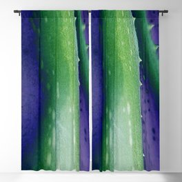 Aloe Vera Abstract Blackout Curtain