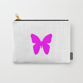 Pink Butterfly For Pink People Carry-All Pouch