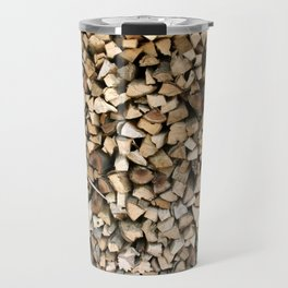 Chopped wood Travel Mug
