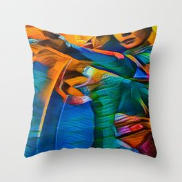 Scarlet Witch Throw Pillow