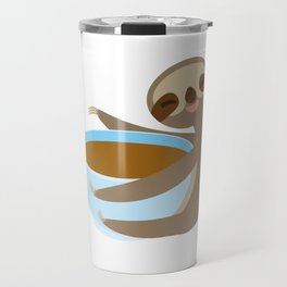 sloth & coffee 2 Travel Mug
