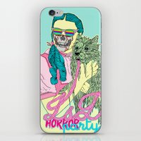 horror iPhone & iPod Skins featuring Lsd  horror party by DIVIDUS DESIGN STUDIO