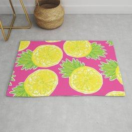 Pineapple Lemon Pattern Rug