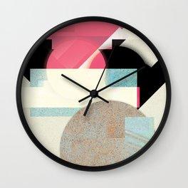 city moon Wall Clock