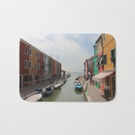 Burano in Venezia Bath Mat