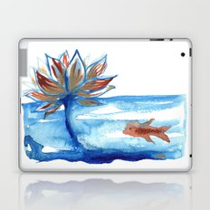 The Lotus and the Goldfish Laptop & iPad Skin