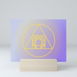 Enneagram // Alchemy Mini Art Print