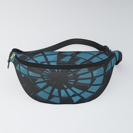 Abstract Dartboard Fanny Pack