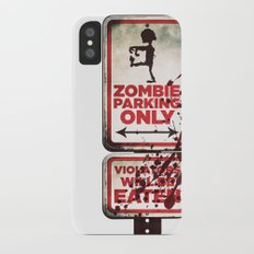 Zombie Parking only iPhone X Slim Case