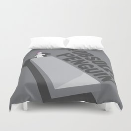 Obsolete Penguin Duvet Cover