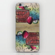 Basket of Apples iPhone & iPod Skin