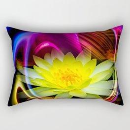 Flower Magic -Water lily Rectangular Pillow