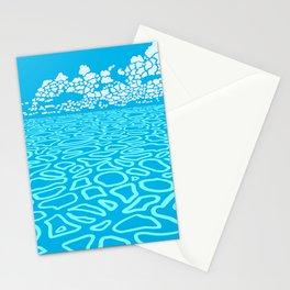 Tropical Ocean by Black Dwarf Designs Stationery Cards