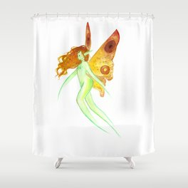 Summer fairy Shower Curtain