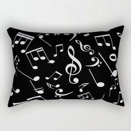 Musical Notes 20 Rectangular Pillow