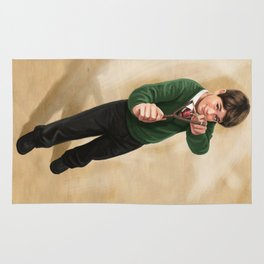 Slingshot Boy Rug