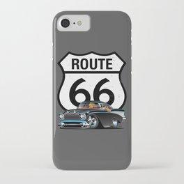 Route 66 Classic Car Nostalgia iPhone Case
