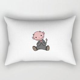 Le Petit Diable Rectangular Pillow