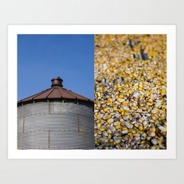 In and Outs of the Farm Art Print