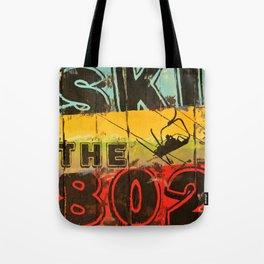 Ski the 802 Tote Bag
