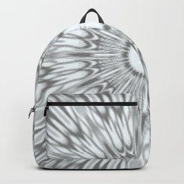 Gray Kaleidoscope Backpack