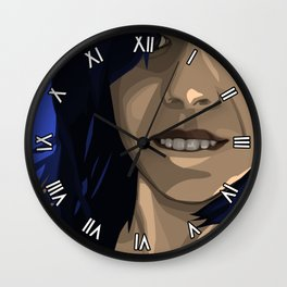 Hovering Wall Clock
