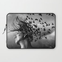 Flock of Crows Laptop Sleeve