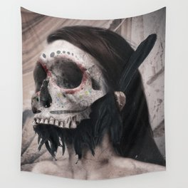 Lady of the Dead Wall Tapestry