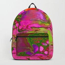 Pink Acid Backpack
