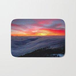 Sunrise from Mountaintop Bath Mat