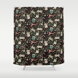 Favourite Game Shower Curtain