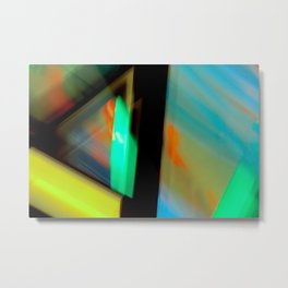 Moving Light2 Metal Print
