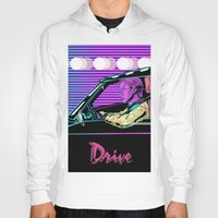 drive Hoodies featuring Drive by Evil Twin