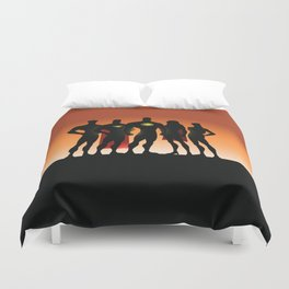 superhero Duvet Cover