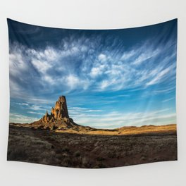 Somewhere In Time - Western Scenery of Agaltha Peak in Northern Arizona Wall Tapestry