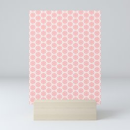 Pink Hearts Mini Art Print