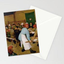Peasant Wedding Bruegel Stationery Cards