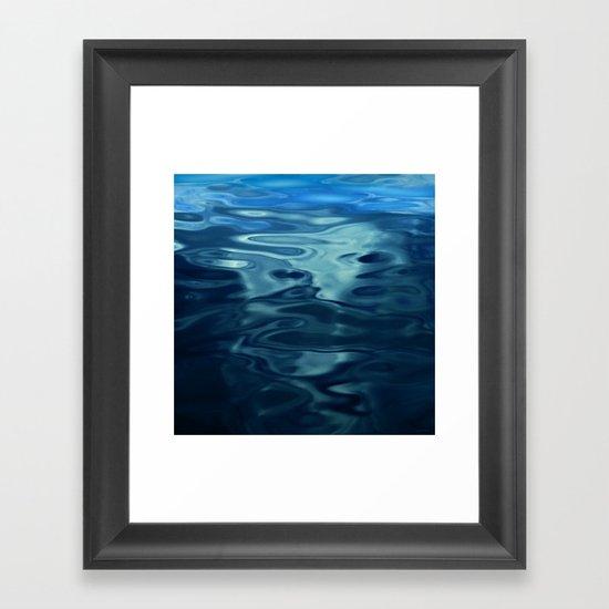 Water / H2O #50 Framed Art Print
