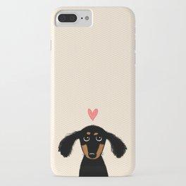 Dachshund Love iPhone Case