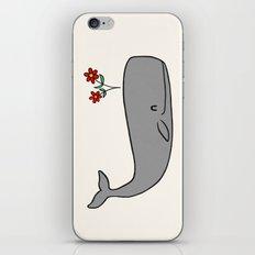 Peace Whale  iPhone & iPod Skin