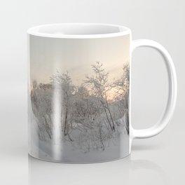 Frosty sunset. Coffee Mug