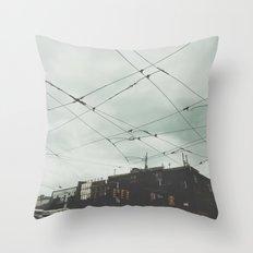 Queens Street West Throw Pillow